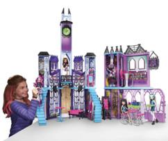 jouet monster high chateau ecole Monstrueux Collège avec poupées draculaura kitty