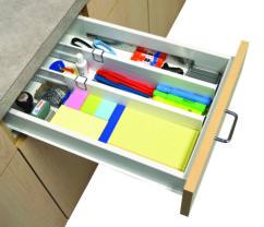 lot de 2 separateurs de tiroir universels extensibles pour organisation tiroir cuisine salle de bain bureau