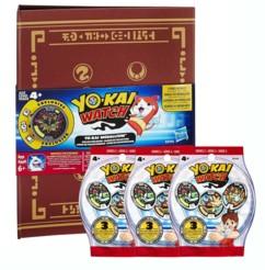 pack medallium classeur rangement medailles avec 3 sachets medailles yo-kai watch