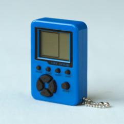 porte clés forme mini console portable retrogaming avec 26 jeux vidéo ORB