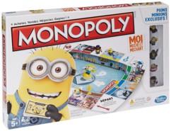 monopoly edition minions moi moche et mechant avec figurines minions kevin stuart bob