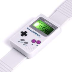 Montre digitale Game Boy avec ecran lumineux led vert Paladone