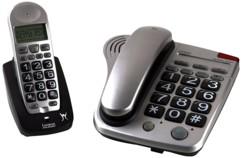 combo téléphone grandes touches lexibook dpc280 telephone sans fil telephone fixe filaire