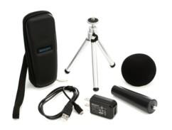 pack d'accessoires APH-1 pour enregistreur audio zoom H1N avec etui trepied bonnette chargeur usb support pince
