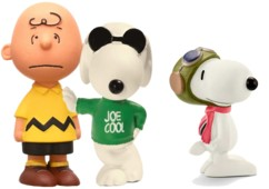 Pack de 3 figurines Snoopy