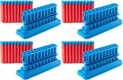 Pack de 80  fléchettes avec 4 chargeurs pour BOOMco Rapid Madness