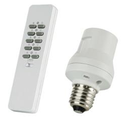pack douille ampoule e27 telecommandée avec telecommande sans fil trust AYCT-102 AFR-060