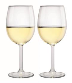 lot d e2 verres à vin masterchef avec contenance 350 ml