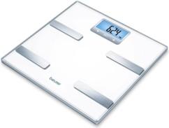 balance pese personne en verre avec impedancemetre calcul imc conseils alimentation beurer bf 350
