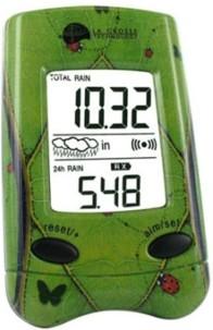 Pluviomètre electronique temps réel avec capteur sans fil la crosse