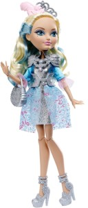 poupée ever after high darling charming fille roi charmant