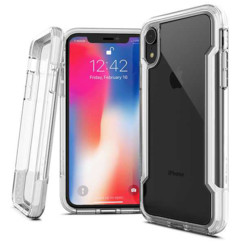 coque globale transparente xdoria defense clear pour iphone xs
