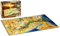 puzzle 4D egypte ancienne avec localisation batiments national geographic 4d