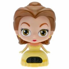 reveil digital pour filles Disney princesse belle et la bete bulbbotz avec tete lumineuse