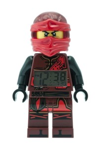 Réveil pour enfant Lego Ninjago - Kai 24 cm