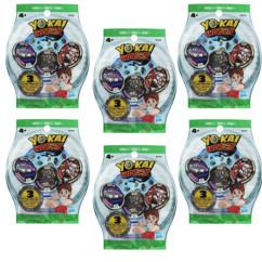 Sachets de 3 médailles Yo-Kai Watch (Série 3) - x6