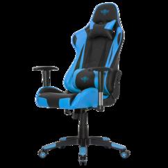 siège gaming pour PC avec lombaires et roulettes spirit of gamer Demon Bleu