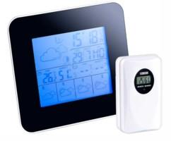 Station météo digitale avec prévisions 4 jours et hygromètre + Capteur Ext.