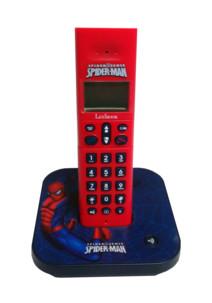 Téléphone fixe sans fil Spider-Man Lexibook DP170FR
