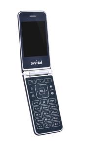 téléphone portable à clapet grandes touches switel m600d double sim wap bluetooth