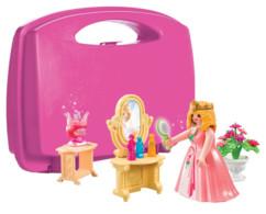 jouet playmobil pour fille valisette princesse avec ses accessoire pack 5650