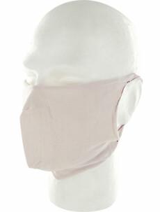 10 masques barrière lavables (sans filtres) - Rose pâle