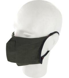 10 masques barrières lavables - Kaki - Sans filtres