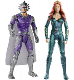 2 figurines Aquaman - 30 cm