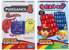 2 jeux Edition Voyage : Puissance 4 et Qui Est-ce ?