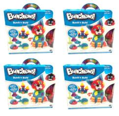 4 boîtes de jeu Bunchems Bunch'n Build