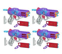 4 pistolets Rebelle Messenger