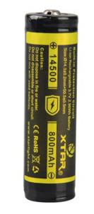 Accu Li-Ion format 14500 - 3,7 V / 800 mAh XTAR