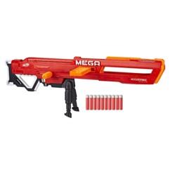 Blaster Nerf Mega Thunderhawk dépliable jusqu'à 1 mètre.