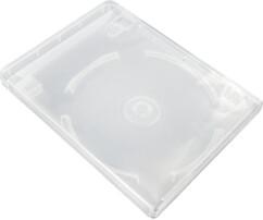 Boîtier transparent pour clé USB et DVD