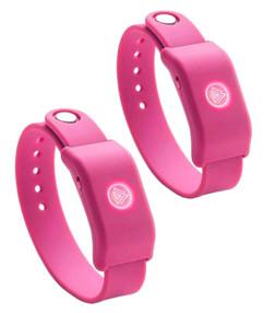 Bracelets musicaux avec accéléromètre SoundMoovz - Rose