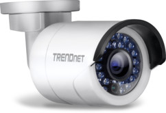 Caméra IP d'extérieur POE Full HD  à vision nocturne Trendnet TV-IP320PI