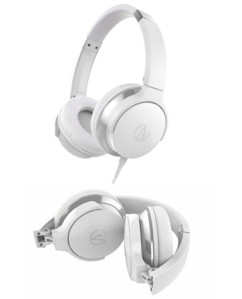 Casque audio filaire : AR3 - blanc Audio Technica
