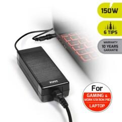Chargeur secteur universel pour PC - 150 W