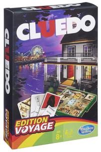 jeu de société version voyage CLuedo jeu d'enquete reflexion famille 6 joueurs
