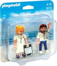 Duo officier et hôtesse de croisière Playmobil - 9216.