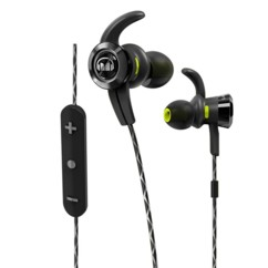 Écouteurs bluetooth intra-auriculaires Monster iSport Victory noir