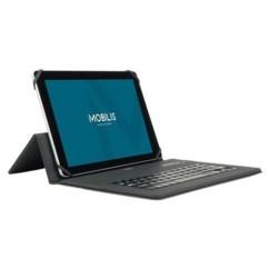 """Étui clavier universel Mobilis pour tablette 9/11"""" noir."""