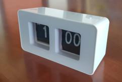 """Horloge du bureau style """"aéroport"""""""