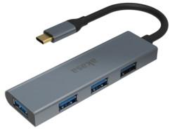 Hub USB-C 4 ports : AK-CBCA25-18BK