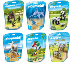 Jouet Playmobil collection Le Zoo - Pack 6 sets d'animaux n°3