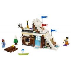 Le chalet de montage LEGO Creator 31080.