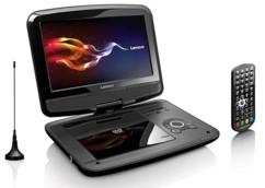 Lecteur de DVD portable avec antenne TNT HD DVP-9413