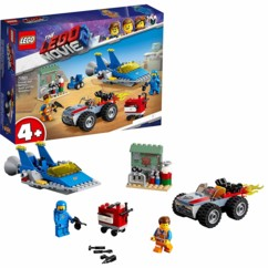 LEGO Movie 2 : L'atelier « Construire et réparer » d'Emmet et Benny