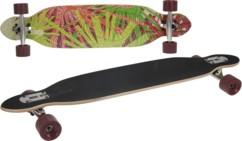 longboard avec roulements abec 7 longueur 96cm planche erable 9 couches xq max