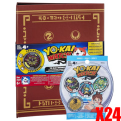 Medallium Yo-Kai Watch + 24 sachets de 3 médailles